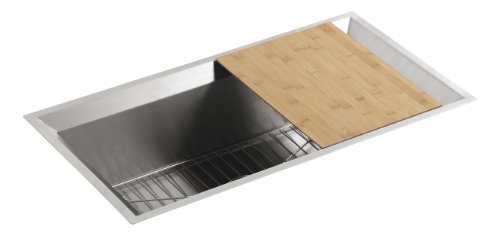 KOHLER K-3158-NA Poise Single-Basin Undercounter Kitchen Sink