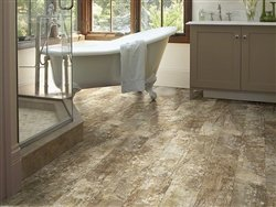 "Shaw Floors Premio Plank 5.83"" Luxury Vinyl Tile Flooring Lucca Sample"