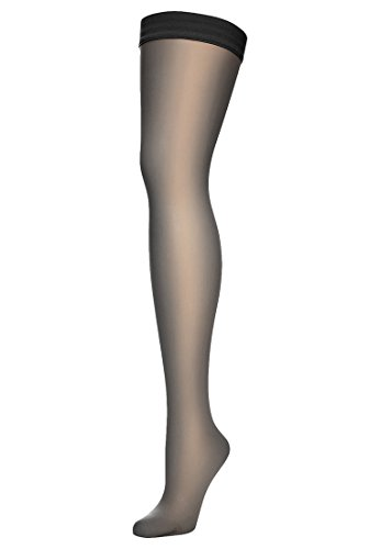 Wolford Individual 10 Stay-Up - Mujer 10 Denier Black
