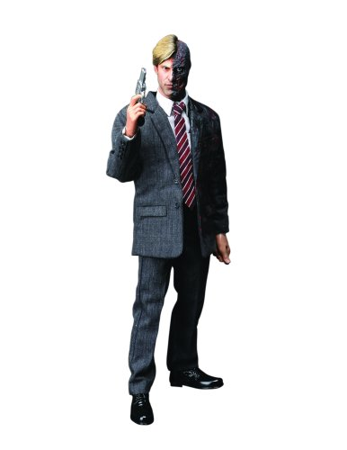 DC Comics Hot Toys' The Dark Knight: 1:6 Scale Two - Face/ Harvey Dent Figure (Face Knight Dark Two)