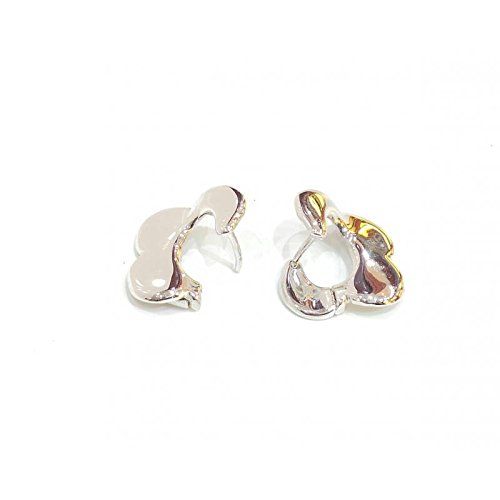 Boucles d'oreille Femme-oro10or blanc