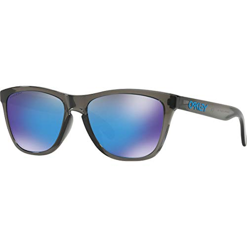 Oakley Men's Frogskins Asian Fit Sunglasses,OS,Gray Smoke/Prizm ()