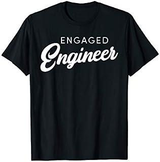 ⭐️⭐️⭐️ Engaged Engineer - Womens Engineer Engagement  Need Funny Tee Shirt Need Funny Short/Long Sleeve Shirt/Hoodie