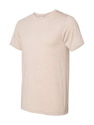 Bella Canvas Men's Triblend Short Sleeve Tee, Tan Triblend, Large]()