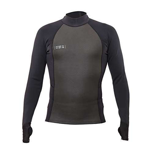 WETSOX Wetsuit Base Layer/Flexible/Multi Season/Multi Use / 1MM Insulation Arms Mens Thermal Shirt