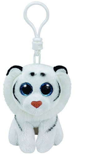 Amazon.com  Ty White Tiger Key Ring ab2a79904a0