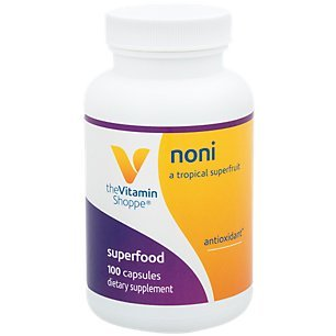750mg Noni A Tropical Exotic Superfruit Antioxidant, Natural Food Supplement That Supports Immune Health (100 Capsules) by The Vitamin Shoppe
