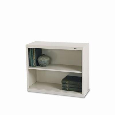 Tennsco - Metal Bookcase Two-Shelf 34-1/2W X 13-1/2D X 28H Putty
