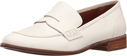 Sarto Penny Leather Franco Jolette Lama Loafer White Tumble Women's 6dOxqwnxf