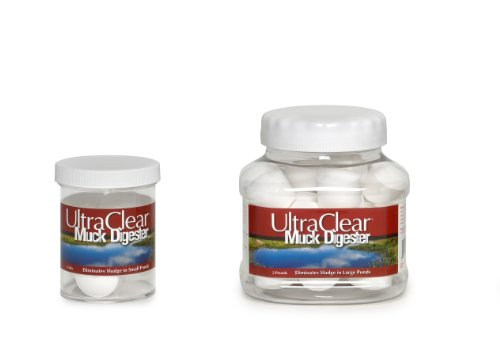 (Ultra Clear Muck Digester 32 Tablets)