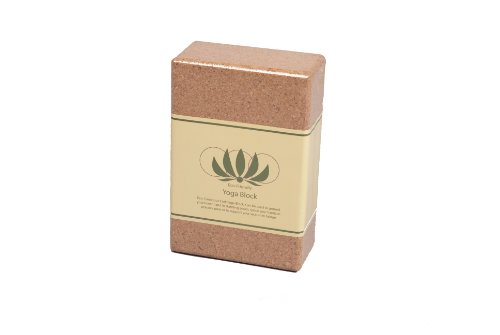 "j/fit 3"" Eco-Friendly Cork Yoga Block"