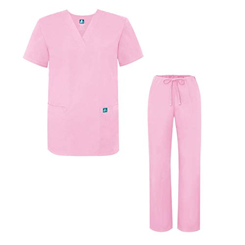 Adar Universal Medical Scrubs Set Medical Uniforms - Unisex Fit - 701 - SPK - 3X
