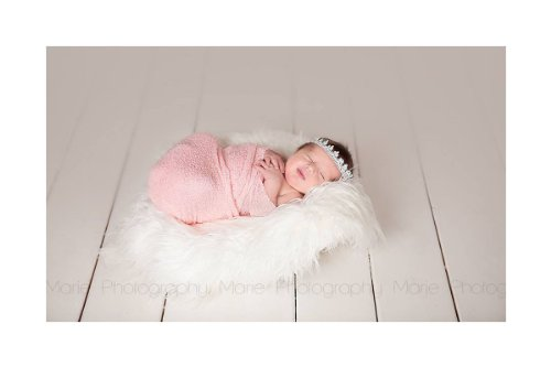 Stretch Knit Newborn baby Photography Wrap - Photo Props - C
