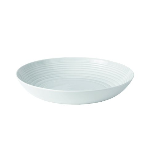 "Royal Doulton Maze Serving Bowl, 11.8"", White"