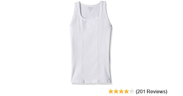3df4ad000058ea SPANX Men s Cotton Compression Tank at Amazon Men s Clothing store