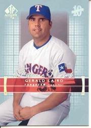 2003 SP Authentic Baseball Card #207 Gerald Laird Near ()