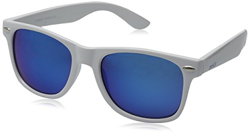 Hipster Fashion Flash Color Mirror Lens Horn Rimmed Style - Men Hipster Sunglasses
