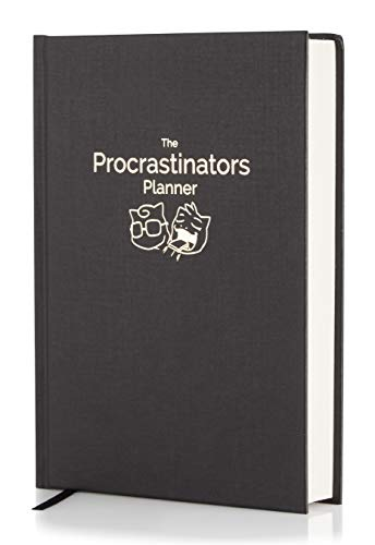 The Procrastinators Planner - Daily/Weekly Organizer Designed to Increase Productivity and Combat Procrastination - Hardcover Half Year 182 Day Planner with Science and Philosopy of Procrastination ()