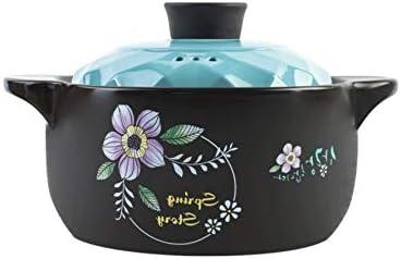 XXDTG Casserole Stew Pot Crock Pot Soup Pot Clay Pot Ceramic Small Casserole Porridge Fire Gas Casserole Soup Home