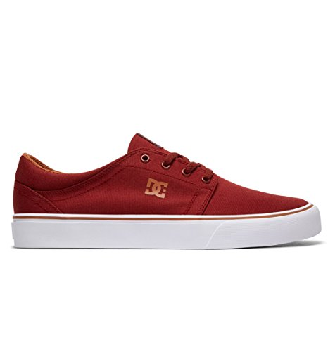 DC Shoes Trase TX, Baskets Mode Homme Rouge - Burgundy
