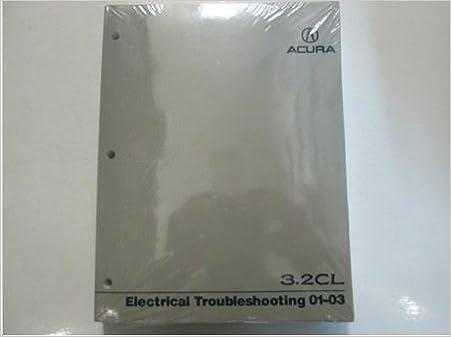 2001 2002 2003 Acura 3.2CL Electrical Troubleshooting Manual ... Acura Cl Wiring Diagram on acura tl, acura slx, acura mdx, acura 3.2tl, acura integra, acura vigor,