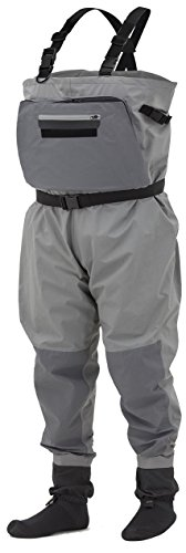 Frogg Toggs Sierran Transition Breathable Modular Stockingfoot Wader, Slate/Gray, Size X-Large