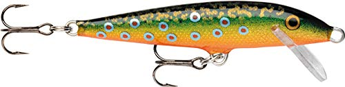 Rapala Original Floater 05 Fishing lure, 2-Inch, Brook Trout