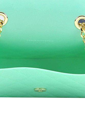 Design Plastique Inverso MCGLBRE03092E Femme Claire Pochette Bleu Fpw8FZSqr
