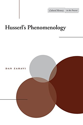 Husserl's Phenomenology (Cultural Memory in the Present)