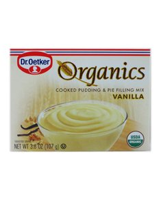 Dr. Oetker Cooked Pudding and Pie Filling Mix Vanilla -- 3.8 oz