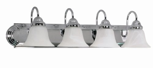 Nuvo Lighting 60/318 Four Light Vanity, Chrome