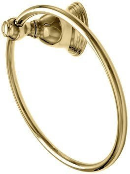 Towel Ring Holder with Bishop Mount - Polished Brass 2853-01