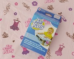 tidy trays hygienic high chair tray cover pink amazon co uk baby