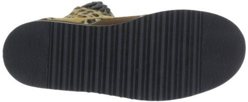 Scarpe Da Donna In Pelle Scamosciata Bufalo Camoscio 30 Marrone - Braun (pantera 30)