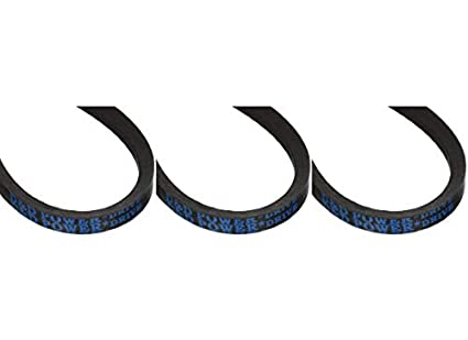 """D/&D PowerDrive A19//4L210 V Belt Rubber A Section 1//2/"""" x 21/"""" OC"""