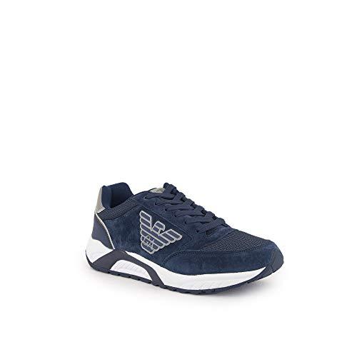 Sneakers Ea7 X8x022 Armani Xk029 Uomo Emporio Blu qXw5t7B
