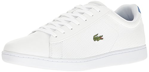 Lacoste Men's Carnaby Evo 217 1, Blue, 8 M US