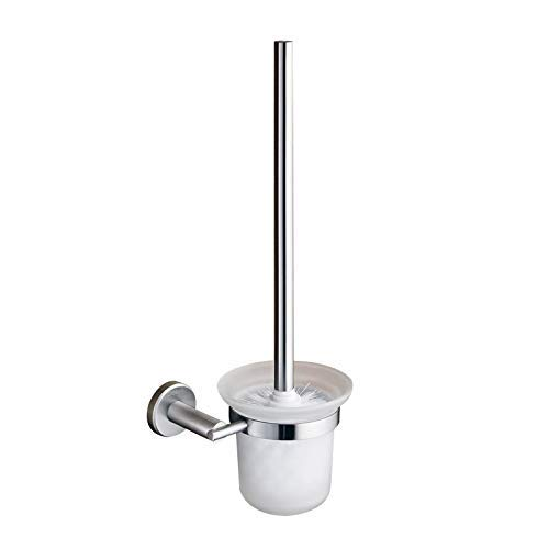 QiXian Jiade Stainless Steel Toilet Brush Set Toilet Brush Shelf Toilet Brush Cup Toilet Brush Strong Sturdy