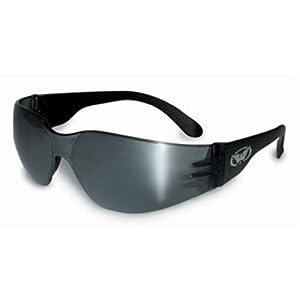 Global Vision Eyewear Rider Safety Glasses, Flash Mirror Lens