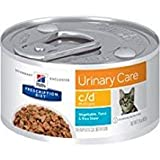 Hill's Prescription Diet c/d Multicare Feline Urinary Tract Health Vegetable, Tuna and Rice Stew Canned Cat Food by Hill's Pet Nutrition