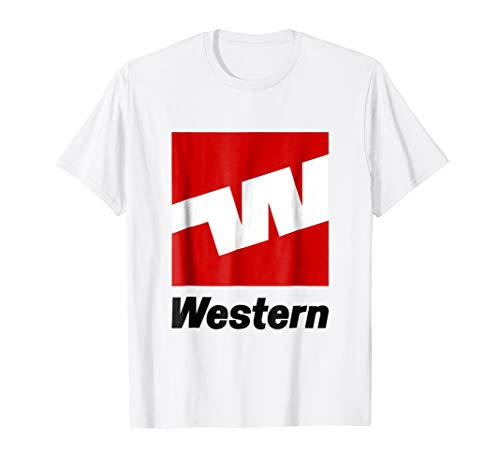 (Western Airlines T-shirt)