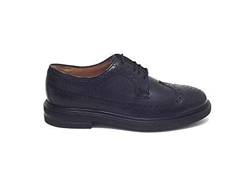 Soldini - Zapatos de cordones para hombre negro negro