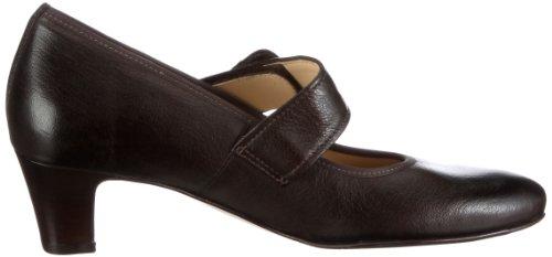 Hassia Rimini, Weite G 2-304621-20000 - Zapatos de vestir de cuero para mujer Marrón