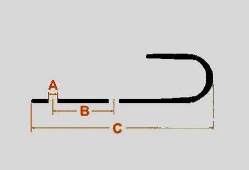 FKAnh/ängerteile 20x Schleuderhaken Planenhaken GRAU f/ür Expanderseil etc.