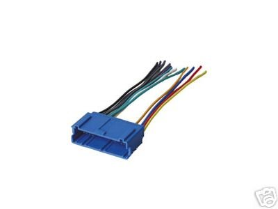 stereo wire harness oldsmobile alero 99 00 2000 (car radio wiring installatio 2001 Audi Tt Wiring Diagram