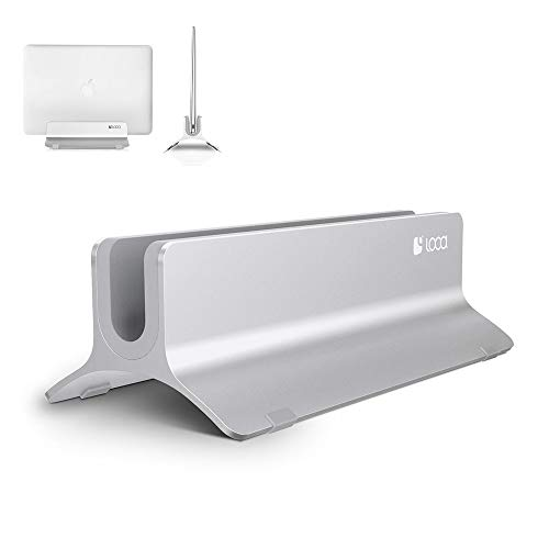 Vertical Laptop Stand, LOCA Aluminium Desktop Stand for Appl