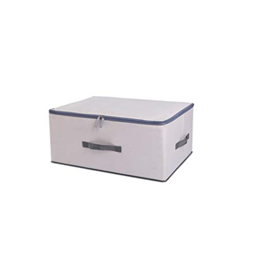 Household Cloth Collection Boxes Oxford Cloth Folding Storage Box Cotton Hemp Thickening Clothes Finishing Box 463518cm Boite,About 46x35x18cm,niujinbu mibaise