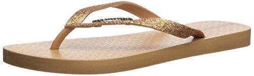 Flop M Women's Flip Gold B US Beige Glitter Ipanema 10 II znqIwPAqp