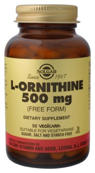 Solgar - L-ornithine, 500 mg, 50 capsules