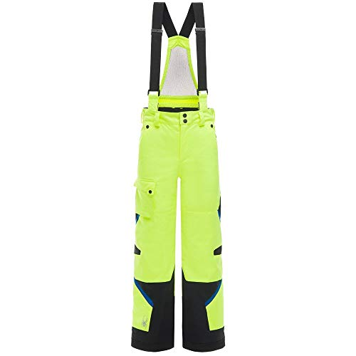 Spyder Kids Boy's Tordrillo Pants (Big Kids) Bryte Yellow/Black/Turkish Sea ()